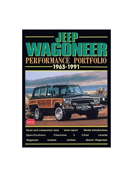 JEEP WAGONEER PERFORMANCE PORTFOLIO 1963-91