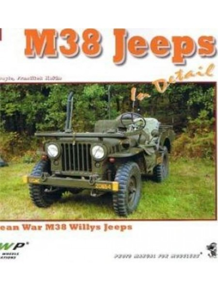 M38 JEEPS IN DETAIL - WWP - Livre