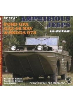 AMPHIBIOUS JEEPS IN DETAIL - FORD, GAZ, SKODA - WWP - Livre