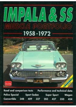 CHEVROLET IMPALA & SS 1958-1972 MUSCLE PORTFOLIO