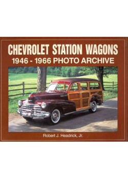 CHEVROLET STATION WAGONS 1946-1966 - PHOTO ARCHIVE