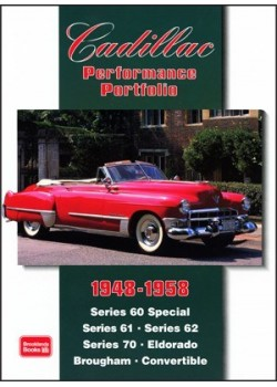 CADILLAC PERFORMANCE PORTFOLIO 1948-58