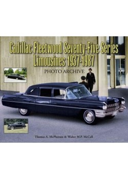 CADILLAC FLEETWOOD SERIES SEVENTY-FIVE LIMOUSINS 1937 1987