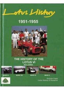 LOTUS HISTORY 1951-1955 LOTUS VI incl. MARK III, VIII, IX, X