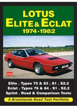LOTUS ELITE & ECLAT 1974-82 - ROAD TEST PORTFOLIO