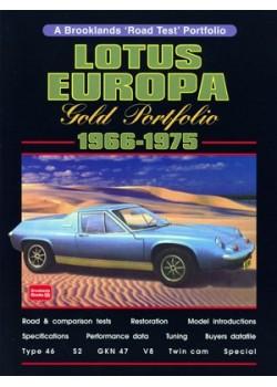 LOTUS EUROPA 1966-75 GOLD PORTFOLIO