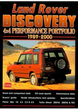 LAND ROVER DISCOVERY 1989-2000 4x4 PERFORMANCE PORTFOLIO