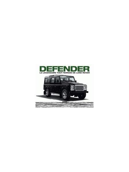 DEFENDER, LE LEGENDAIRE TOUT-TERRAIN DE LAND ROVER