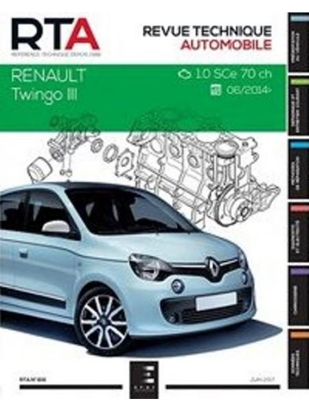 RTA816 RENAULT TWINGO III : 1.0i (71 ch) (depuis 2014)