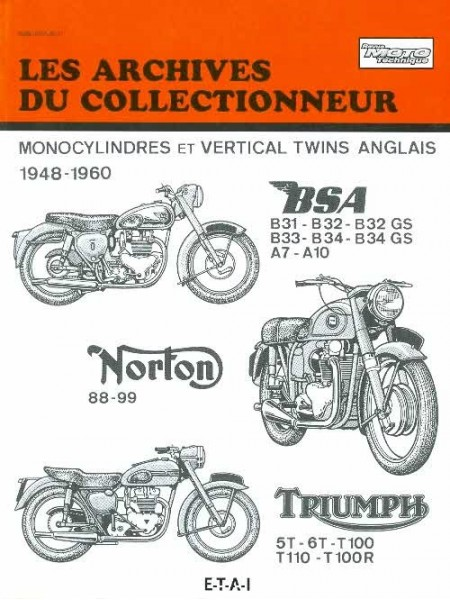 ARC105 BSA NORTON TRIUMPH 48 60