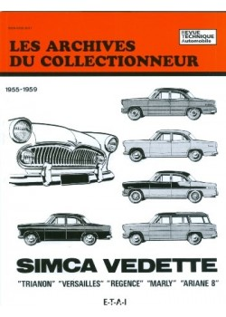 ARC13 SIMCA TRIANON-VERSAILLES-REGENCE-MARLY 55-59