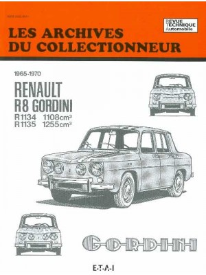 ARC25 RENAULT 8 GORDINI