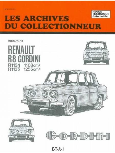 ARC25 RENAULT 8 GORDINI