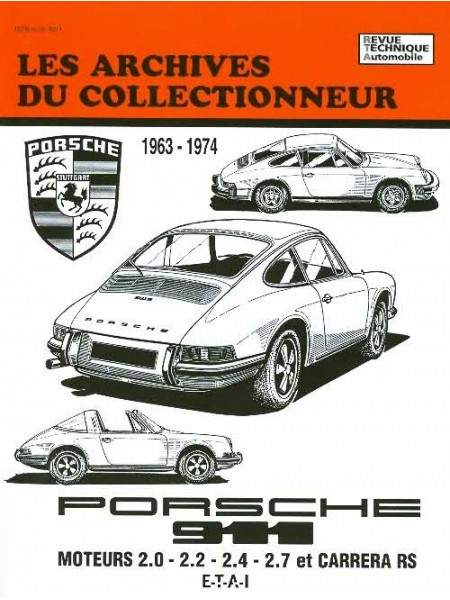 ARC29 PORSCHE 911 (63-75) CARRERA RS (72-76)