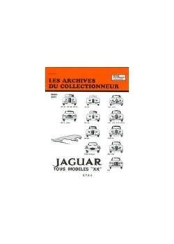 ARC03 JAGUAR TOUS MODELES XK MK TYPE 1948-71