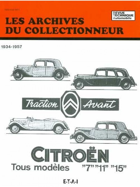 ARC07 CITROEN TRACTION 7 11 15