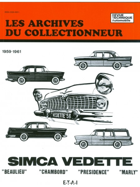 ARC08 SIMCA BEAULIEU-CHAMBORD-PRESIDENCE-MARLY 59-61