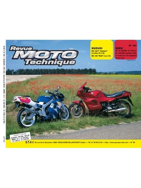 RMT90 SUZUKI RG 125 F GAMMA + WOLF 92- 96 / BMW K1-100-1100 95-98