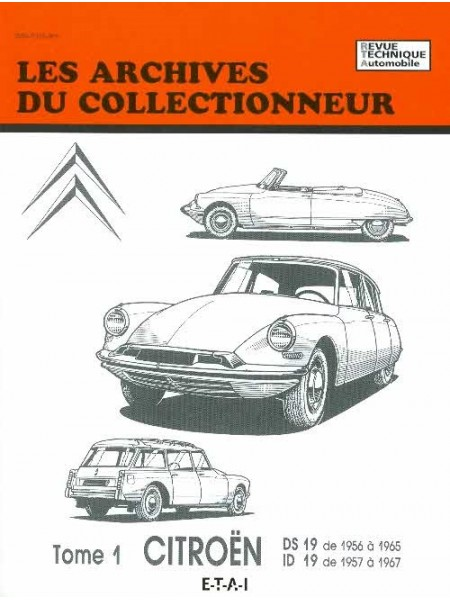 ARC30 CITROEN DS19 56 ... 65 & ID19 57 66