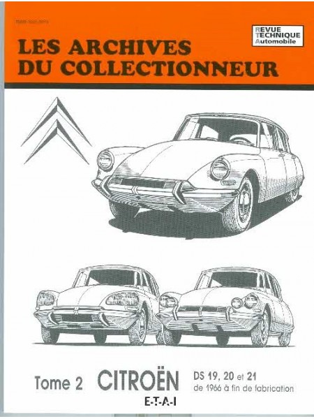 ARC31 CITROEN DS19 20 &21 DE 66 ... FIN DE FAB