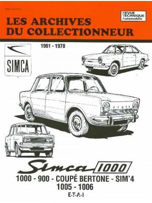 ARC35 SIMCA 1000 900 COUPE