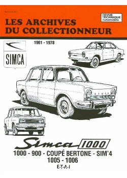 ARC35 SIMCA 1000 900 COUPE