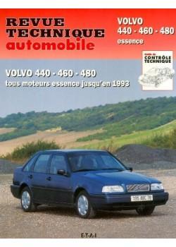 RTA540 VOLVO SERIE 400 440-460-480 ESSENCE 1987-93
