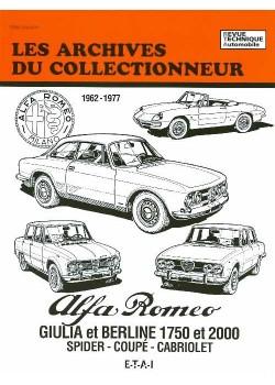 ARC36 ALFA ROMEO GIULIA 1962-1977