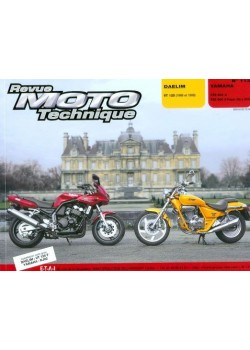 RMT113 DAELIM VT125 98-99 / YAMAHA FZS 600 & S FAZER 98-02