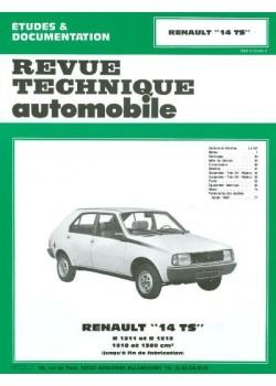 RTA394 RENAULT 14TS 1976-83