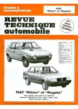 RTA392 FIAT RITMO ET REGATA ESSENCE SAUF ABARTH 1978-90