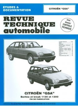 RTA399 CITROEN GSA 1130 ET 1300 1980-85