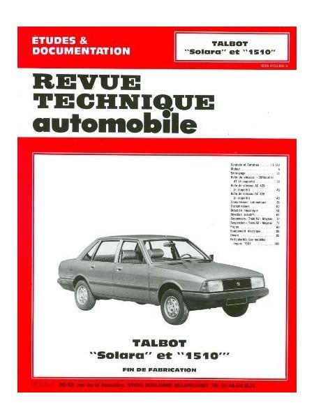 RTA404 TALBOT SOLARA ET 1510 1981-85
