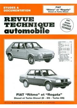 RTA421 FIAT RITMO, REGATA DIESEL  ET TD 1980-87