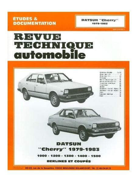 RTA427 DATSUN CHERRY 1000 A 1500 A & E 1979-83