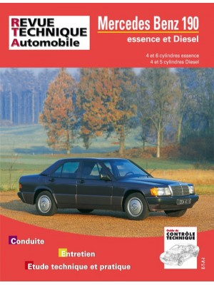 RTA465 MERCEDES 190  4-6 CYL. ESSENCE ET 4-5 CYL. DIESEL