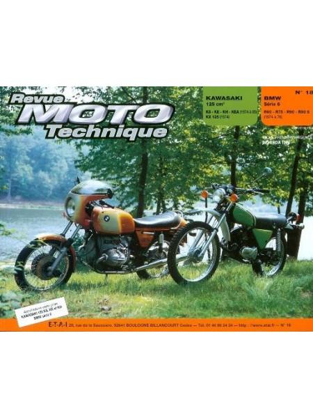 RMT18 KAWASAKI 125 KS-KX-KE-KH-KEA 74-85 / BMW R60-R75-R90-R90S 74-76