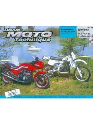 RMT49 HUSQVARNA 125-240-390-430 WR 80-83 / KAWASAKI Z-GPZ-ZX-GT 750
