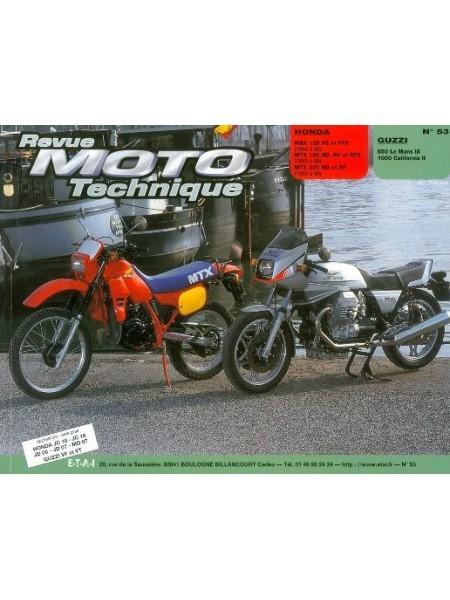 RMT53 HONDA MBX 125 - MTX 125 - 200 84-86 / GUZZI 850 -1000