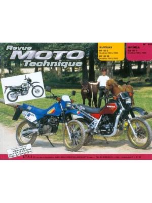 RMT62 SUZUKI DR 125 S + SE 83-00 / HONDA XLV 750 R 83-86