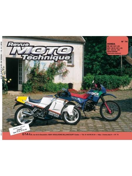 RMT74 HONDA NS 125 R + MTX 125 R 87-89
