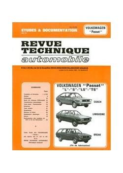 RTA337 VOLKSWAGEN PASSAT L, S, LS, TS 1973-81