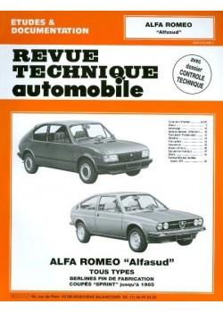 RTA346 ALFASUD ET COUPE SPRINT 1973-85