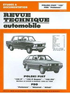 RTA345 FSO POLSKI FIAT 125 P SUPER PX 71 87