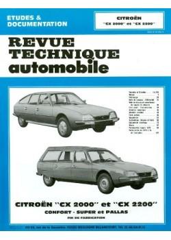 RTA354 CITROEN CX 2000 ET 2200 ESSENCE  1973-79