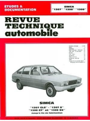 RTA355 SIMCA 1307 GLS, 1307 S, 1308 GT, 1309 SX 1976-79