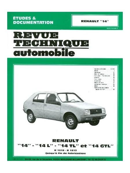 RTA368 RENAULT 14 L, TL, GTL 1976-83