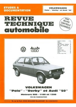RTA363 AUDI 50 & VW POLO 0.9 & 1.1, DERBY 1975-77