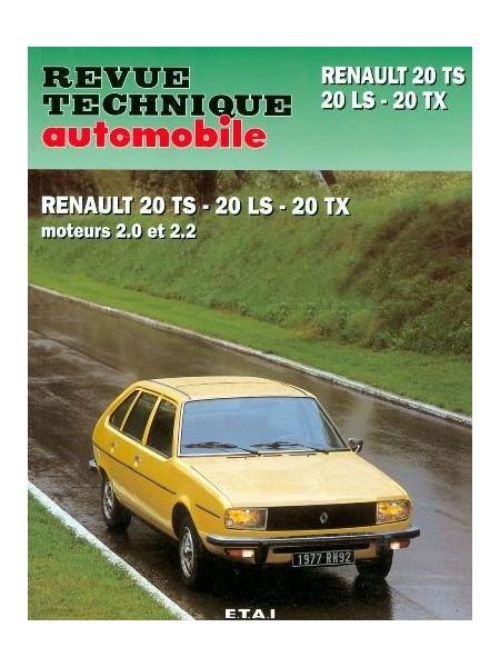 RTA377 RENAULT 20 LS, TS, TX 1977-83