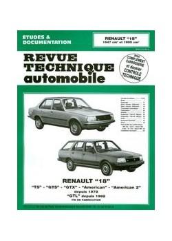 RTA382 RENAULT 18 GTL  (1982-86) TS GTS GTX (1978-86) MOT. 1647 1995